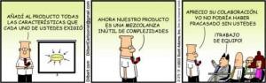 Dilbert-Trabajo en equipo