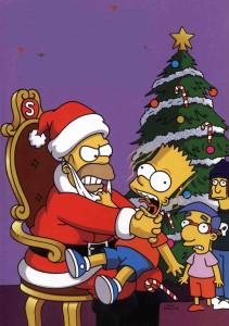 navidad-simpsons-poster