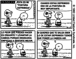 Postura-Charlie Brown