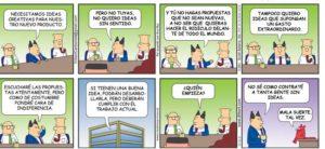Dilbert miedo