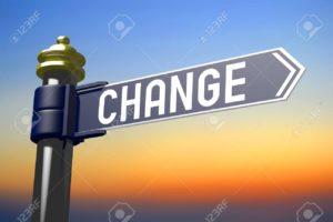 Change signpost