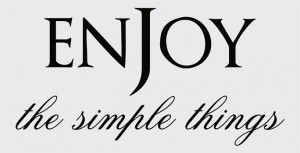 Enjoy-the-simple-things-vinyl-wall-design