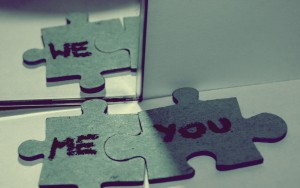 Me and You = We
