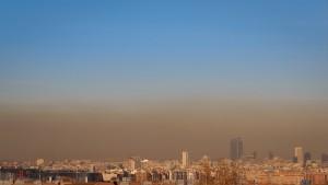 Contaminacion del centro de Madrid
