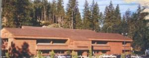 Edificio construido para las oficinas de Sierra en 1982