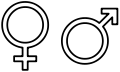 120px-Gender symbols side by side svg.png