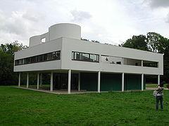 Villa Savoie. Poissy, Paris. 1930 Le Corbusier